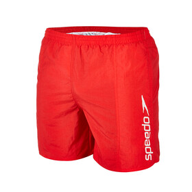 "speedo Scope 16"" Watershorts Herren usa red/white stripe logo"